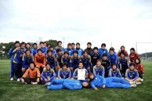 長崎大学全学サッカー部時代の集合写真