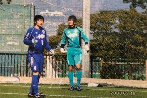 アビスパ福岡U-18時代の写真